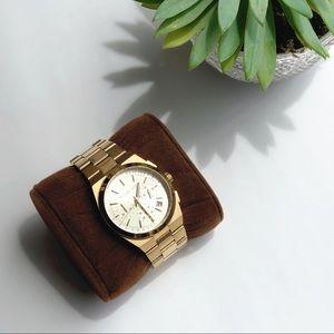 Michael Kors Channing gold  watch new battery